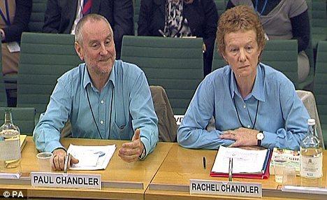 Víctimas: Paul y Rachel Chandler fueron tomados como rehenes durante más de un año