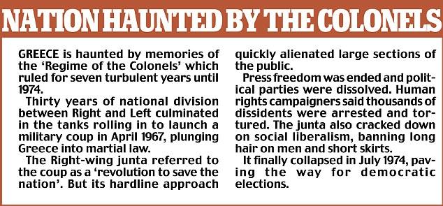 Nación obsesionada por los coroneles