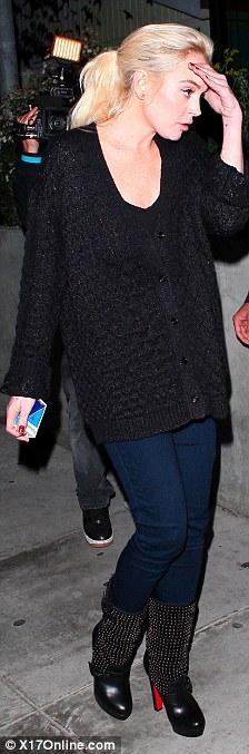 Lindsay Lohan checking for short jail appearance