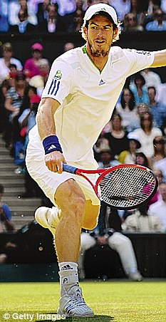 Russell would like to play a game of tennis on Centre Court at Wimbledon against Andy Murray