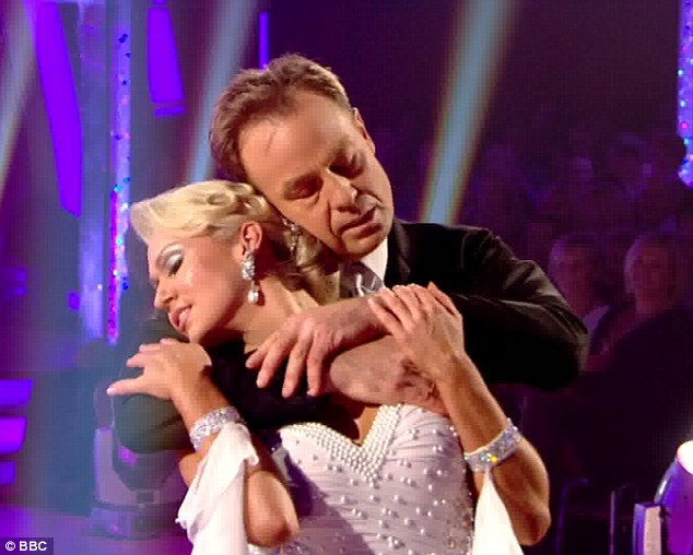 Tender: Jason Donovan put in another good performance, but the other celebrities are starting to steal his thunder