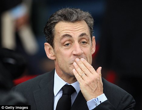 Oops! Sarkozy's loose lips have got him in trouble again - this time after referring to breastfeeding as 'slavery'