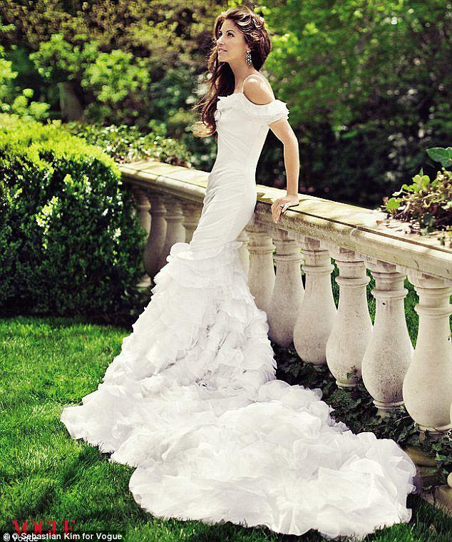 Dylan Lauren's Wedding Gown