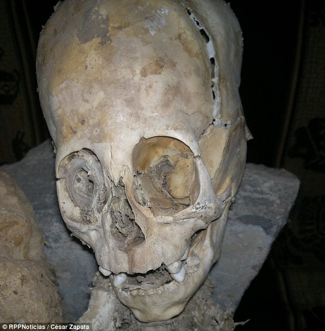 Spanish and Russian scientists who have examined the remains claim they are actually those of an alien.