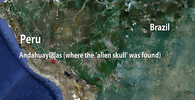 Where the skull was found