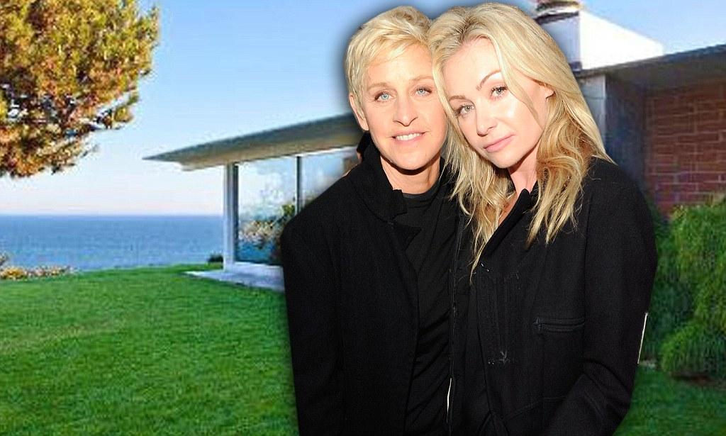 Ellen DeGeneres And Wife Portia De Rossi Are Eyeing Brad