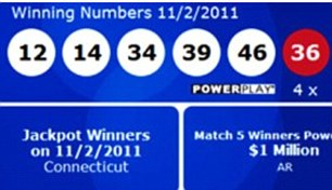 Winning combination: News of the huge jackpot prompted a search for the elusive ticket holders