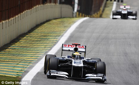 Season to forget: Williams won just five points in 19 races in 2011