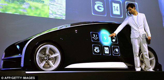 Smart: The car can display various graphics on its interior or exterior