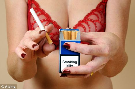Smoking not only kills but can also disrupt the healing process after cosmetic operations such as breast lifts