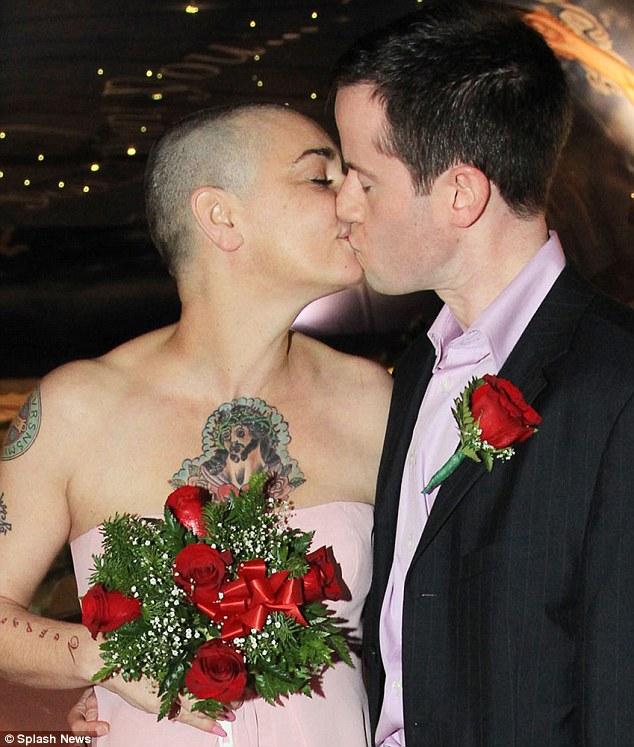 Sinead OConnor Wedding Singer Marries Online Boyfriend