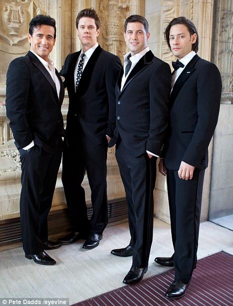 New bond (from left): Carlos, David, Sebastian and Urs