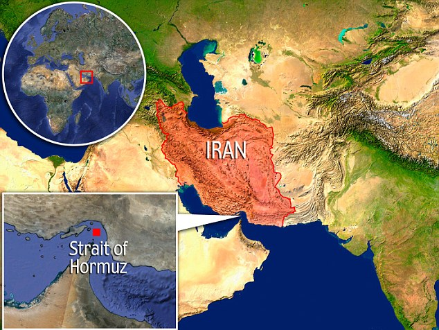 Threat: An Iranian politician claims the country's military is preparing to close off the Strait of Hormuz - the most important oil transport channel in the world