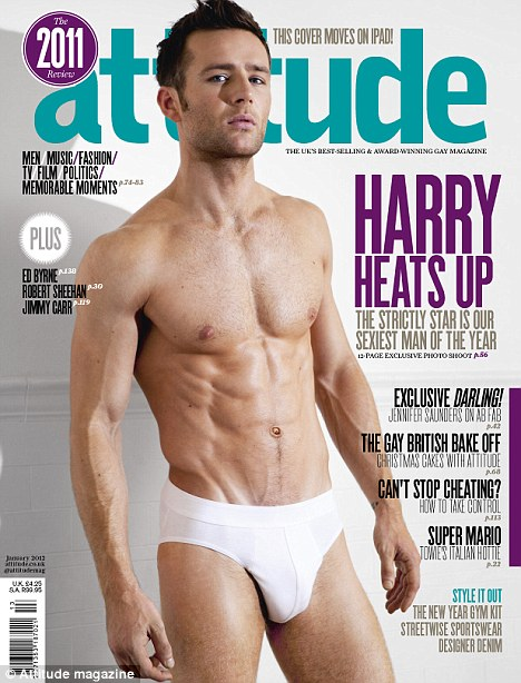 Ripped: Strictly Come Dancing finalist Harry Judd stripped down to his briefs for Attitude magazine