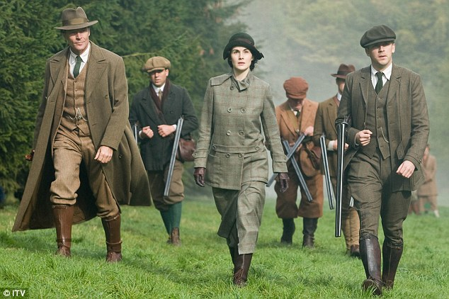 Abbey Downton Shooting Party