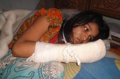 Hawa Akhter has said she will continue her studies, despite the horrific attack