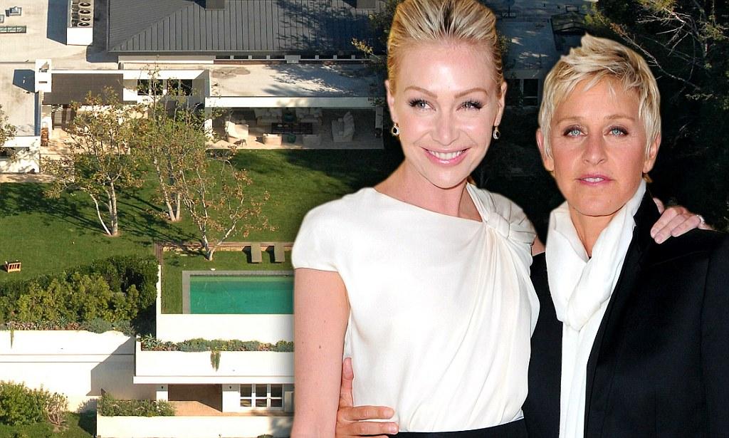 Ellen DeGeneres And Portia De Rossi Buy Brad Pitt's Malibu