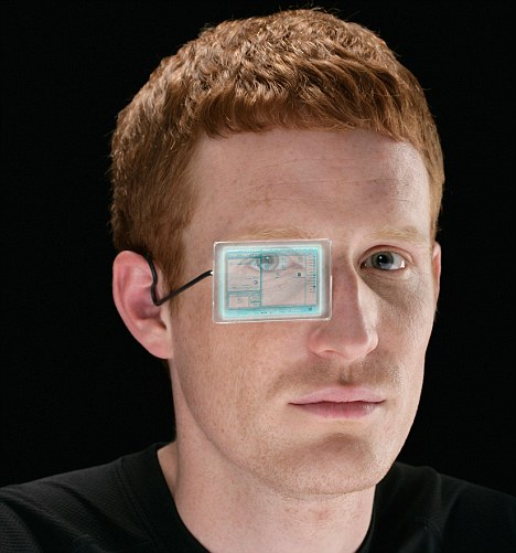 Prototype transparent screens have already been demonstrated at technology shows - so the idea of 'wearable' computer glasses is not as out-there as it sounds