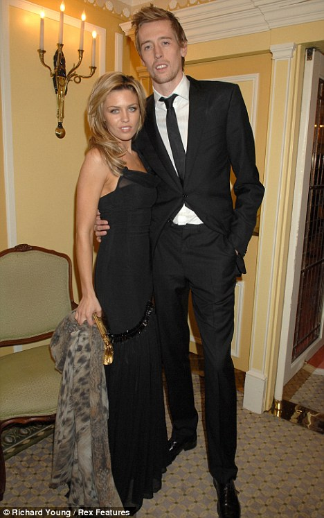 Victims for a second time: Abbey and Peter Crouch's home has been targeted by burglars again