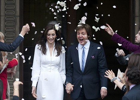 Paul McCartney My Valentine Wedding Song Written For Nancy Shevell To Be Released Daily