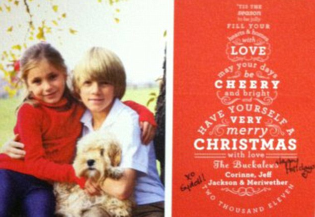 New Jersey Plane Crash Heartbreaking Christmas Card