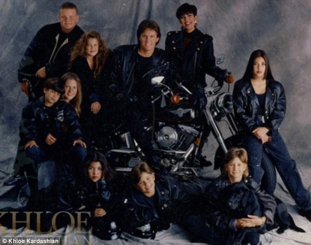 Kardashian Clan Wear Matching Motorcycle Jackets In