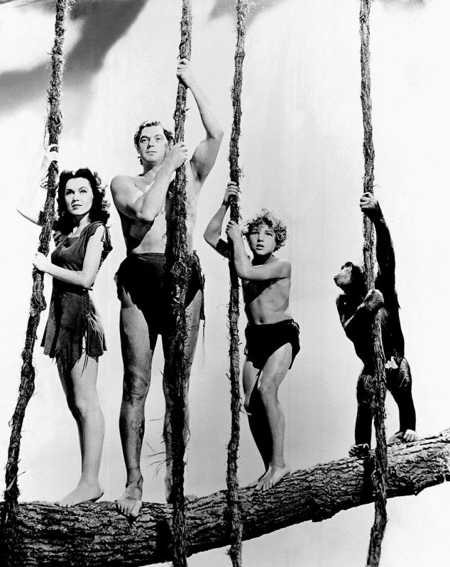 King of the Swingers: Cheetah (right) In the 1939 hit Tarzan Finds a Son