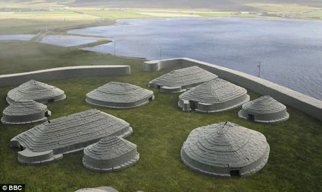 'More important than Stonehenge': The temple precinct being uncovered in Orkney contains 100 Stone Age buildings