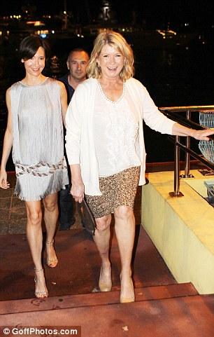 Martha Stewart Leaves Roman Abramovichs New Year Bash