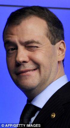 Russian president Dmitry Medvedev invites British rock ...