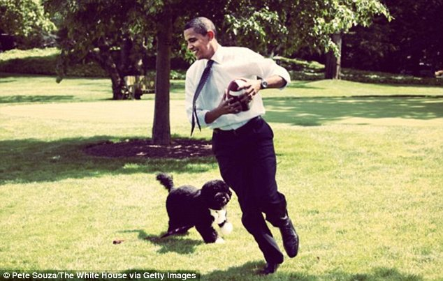 Barack Obama's public Instagram profile