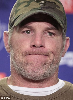 Earnest Scott Favre, brother of pictured NFL quarterback Brett Favre, was pardoned
