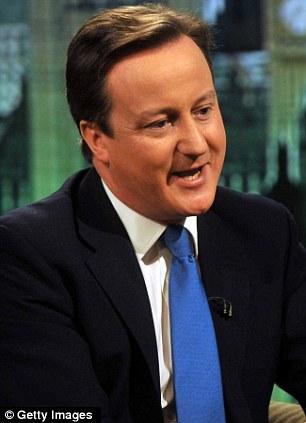 Hacerse cargo: David Cameron está planeando utilizar un discurso para pedir cambios en las reglas que se espera poner en práctica durante la presidencia británica del Consejo de Europa