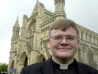 Challenge: Gay dean Dr Jeffrey John has said he will take action against the Church
