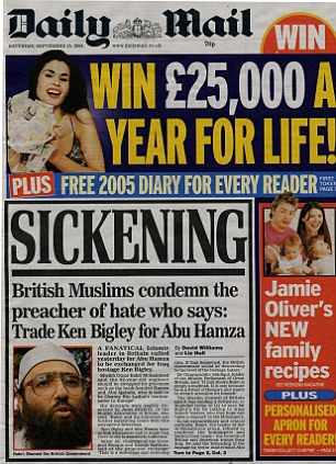In 2004 we reported how Muslims had condemned the hate preacher