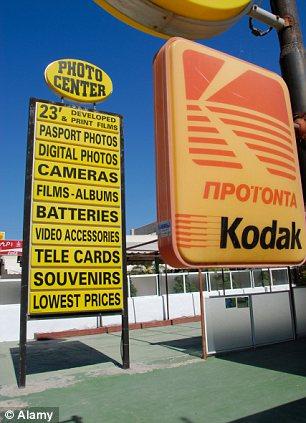 Grecia Kodak signo