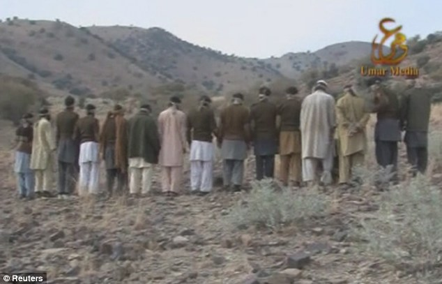 Warning: The release of the video showing the soldiers is intended to serve as a warning to Pakistan's 600,000-member army