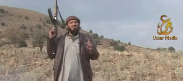 In the video Taliban chanting can be heard: 'We will cross all limits to avenge your blood,' it said, referring to fighters killed by Pakistani security forces