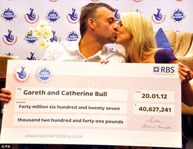 EuroMillions winners Gareth and Catherine Bull scoop £ ...