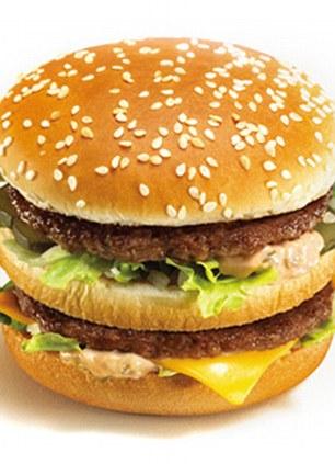 Hamburguesa de McDonalds Bigmac