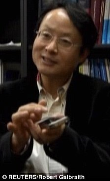 Excited: Professor Park Hyun-Gyu is one of those working on the new smartphone technology