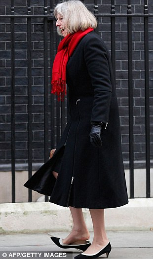 Theresa May Struggles On Downing Street As Much Loved Kitten Heel Gets Stuck In Pavement Daily