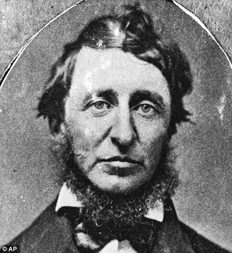 By himself: Henry David Thoreau tried living by himself in the mid-1800s, when he was still in his twenties, and the result was his book 'Walden'
