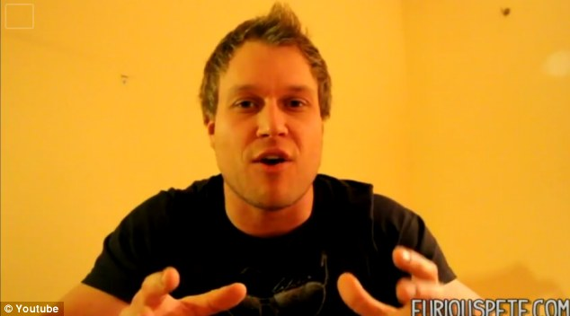 How to: 'Furious Pete' explains to viewers that if sometimes those before and after shots seem impossible, then they probably are
