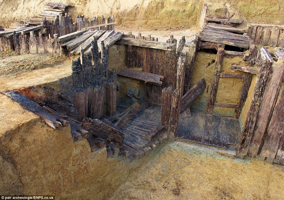Network of tunnels: French engineers stumbled upon the mass grave on the former Western Front near the town of Carspach in the Alsace region of eastern France during excavation work for a road building project