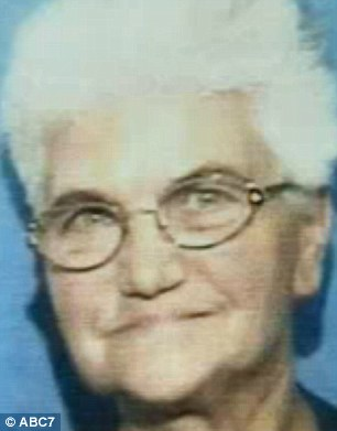 Buried: Margareta Scheibe, 72, had not been seen for weeks when her body was found under mounds of trash at her home