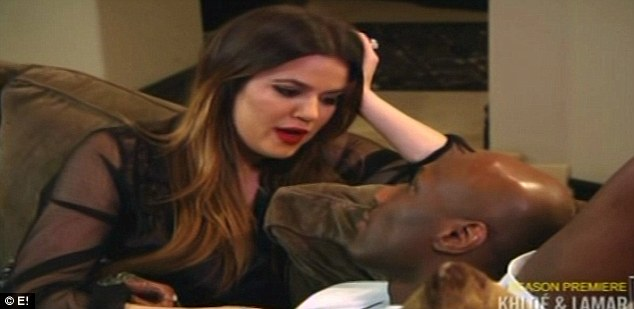 Worried the fire is gone? Khloe wonders why Lamar doesn't want to sex her up