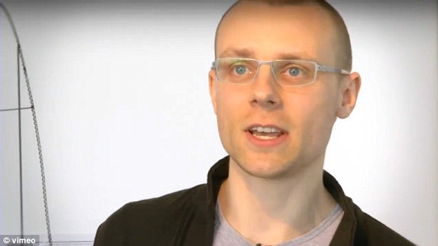 Madcap: The roller coaster's Lithuanian creator Julijonas Urbonas.