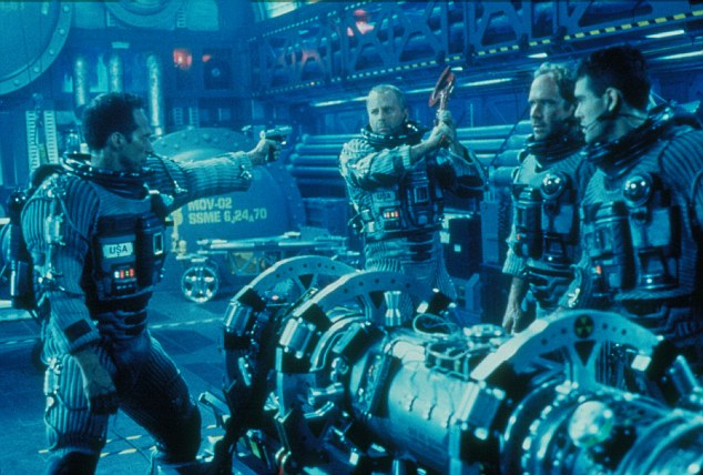 Armageddon (1998): One of the options discussed by the U.N. team has been to use a nuclear weapon against the asteroid, as in the Bruce Willis film