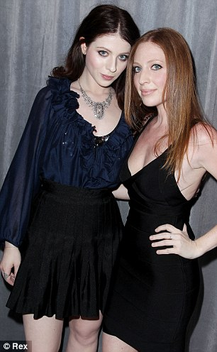 Michelle Trachtenberg with college graduate sister Irene Trachtenberg, and Hayden Panettiere with brother Jason
